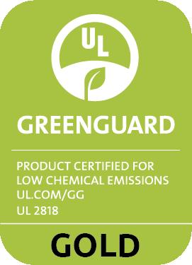 Vinylová podlaha Easyline Click má certifikát Greenguard Gold